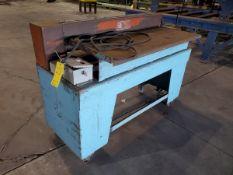 "Progressive Machinery Slitter 65"" x 30"" x 44""H (Location: 1804 Jack McKay Blvd, Ennis TX 75120)"
