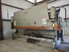 Pacific K175-16 16' x 175 Hyd Press Brake W/ Control Panel, 480V, 84,443.8Hrs; W/ Hurco Autobend 7
