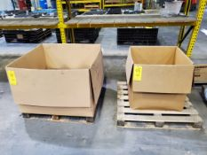 (6) Boxes Of Assorted Raw Material; W/ (1) Pallet Grades: Alum, 316, 2024, etc.