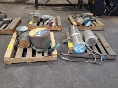 (8) Pallets Of Assorted Raw Material Grades: 4140, 316, 17-4, etc.