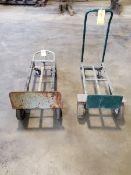 (2) 4-Wheel Dollies