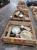 (5) Crates Of Assorted Raw Material Grades: 17-4, 410, 6061, etc.