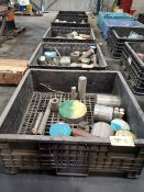 (5) Pallets Of Assorted Raw Material Grades: 4140, 316, 17-4, etc.