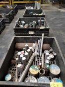 (4) Crates Of Assorted Raw Material Grades: Alum, 316, 2024, etc.