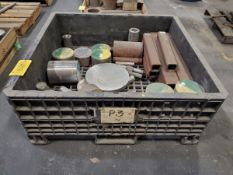 (2) Crates Of Assorted Raw Material Grades: 410, 15-5, A500, etc.