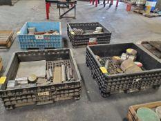 (4) Crates Of Assorted Raw Material Grades: 316, 4130, 6061, etc.
