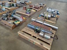 (7) Pallets Of Assorted Raw Material Grades: Inconel, 304, 17-4, 15-5, etc.
