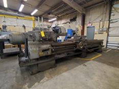 """Axelson 20 20"""" Manual Lathe (Opening bid Includes Rigging Fee)"""