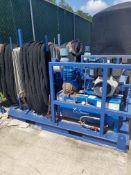 Ball Dropper Unit – 10hp Yanmar Engine on Quincy Compressor