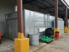 GFS CDG-1410PSB-38-S Paint Booth 40' x 14' x 10' , Year: 2012
