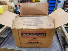 Baldor Motor .33HP, 115/230V, 1725RPM, 60HZ, Frame-56J