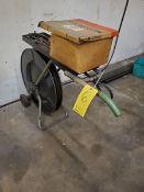 "Signode Portable Banding Cart W/ Tensioner, Sealer, Cutter, 3/4"" x .017"" Starpping, Seals"