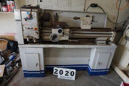 "Birmingham Engine Lathe, Mdl: CT-1440G, dom: 2001, 14"" Swing, 40"" Centers, 6"" 3 Jaw Chuck,"