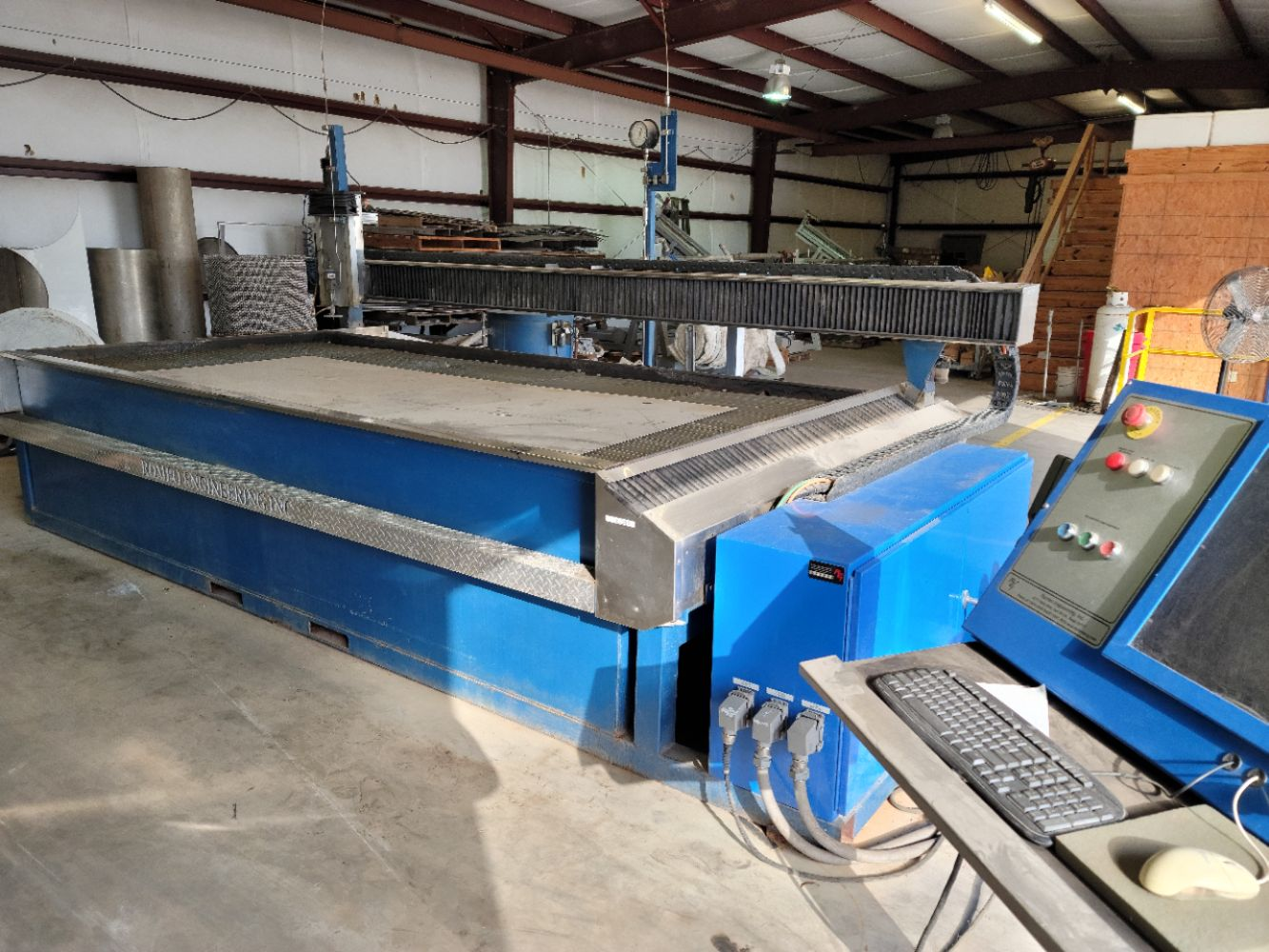 Multi Location Metal Fabrication and CNC Machine Auction