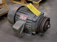 Dayton Motor 10HP, 1750RPM, 208-230/460V, 60HZ, 3PH, Frame-215T