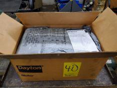 Dayton Motor 1-1/2HP, 1725/1425RPM, 208-22-/440V, 50/60HZ, 3PH
