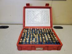 """Pin Gage Set .501""""-.625"""""""