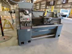 """Clausing 13"""" Manual Lathe 12"""" Swing, 58"""" Bed, 40"""" Between Centers, 3"""" Spindle Thru Hole"""
