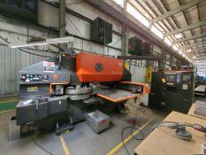 Pega 304050 30 Ton Turret Punch Press 460/230V, 3PH, 60HZ; W/ (2) Aut-Indexes; X-Axis: 50.00, Y-
