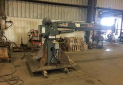 Venturo HT50KX 25' Boom Hydraulic Crane, 8,000 lbs Cap (TRAILER NOT INCLUDED)