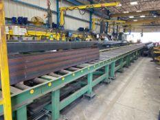 350 ft. Heavy Duty Roller Conveyor Line