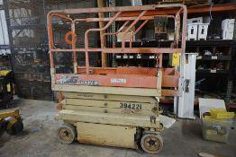 JLG 1932E2 Scissor Lift, Working Ht: 19', Basket Cap: 500 lbs