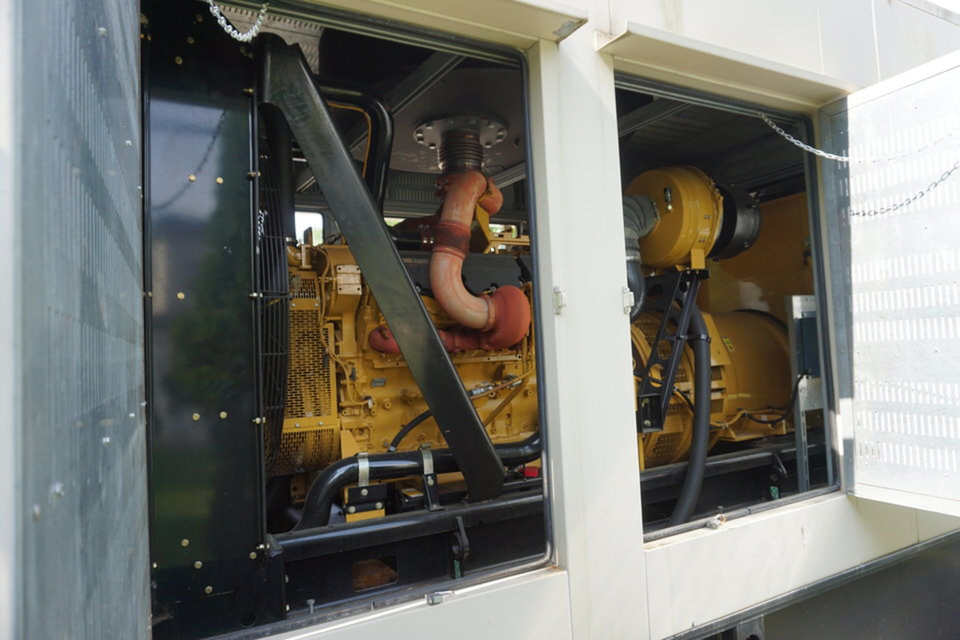 2007 CATERPILLAR BACK UP GENERATOR, ENGINE MODEL: C32 W/ EMCP3.3 CONTROL, 173.9 HOURS, 1250 KVA - Image 10 of 25