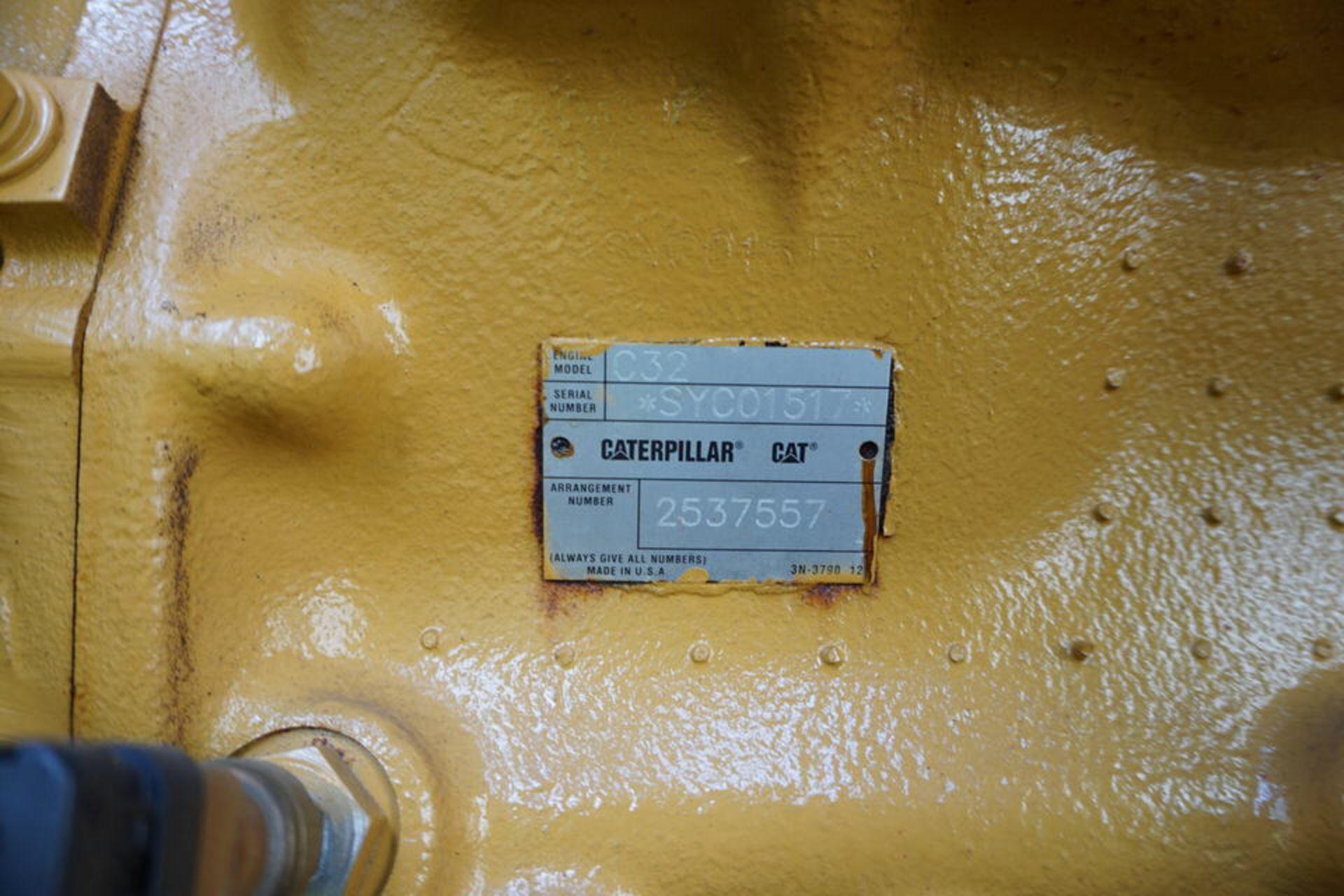 2007 CATERPILLAR BACK UP GENERATOR, ENGINE MODEL: C32 W/ EMCP3.3 CONTROL, 173.9 HOURS, 1250 KVA - Image 9 of 25