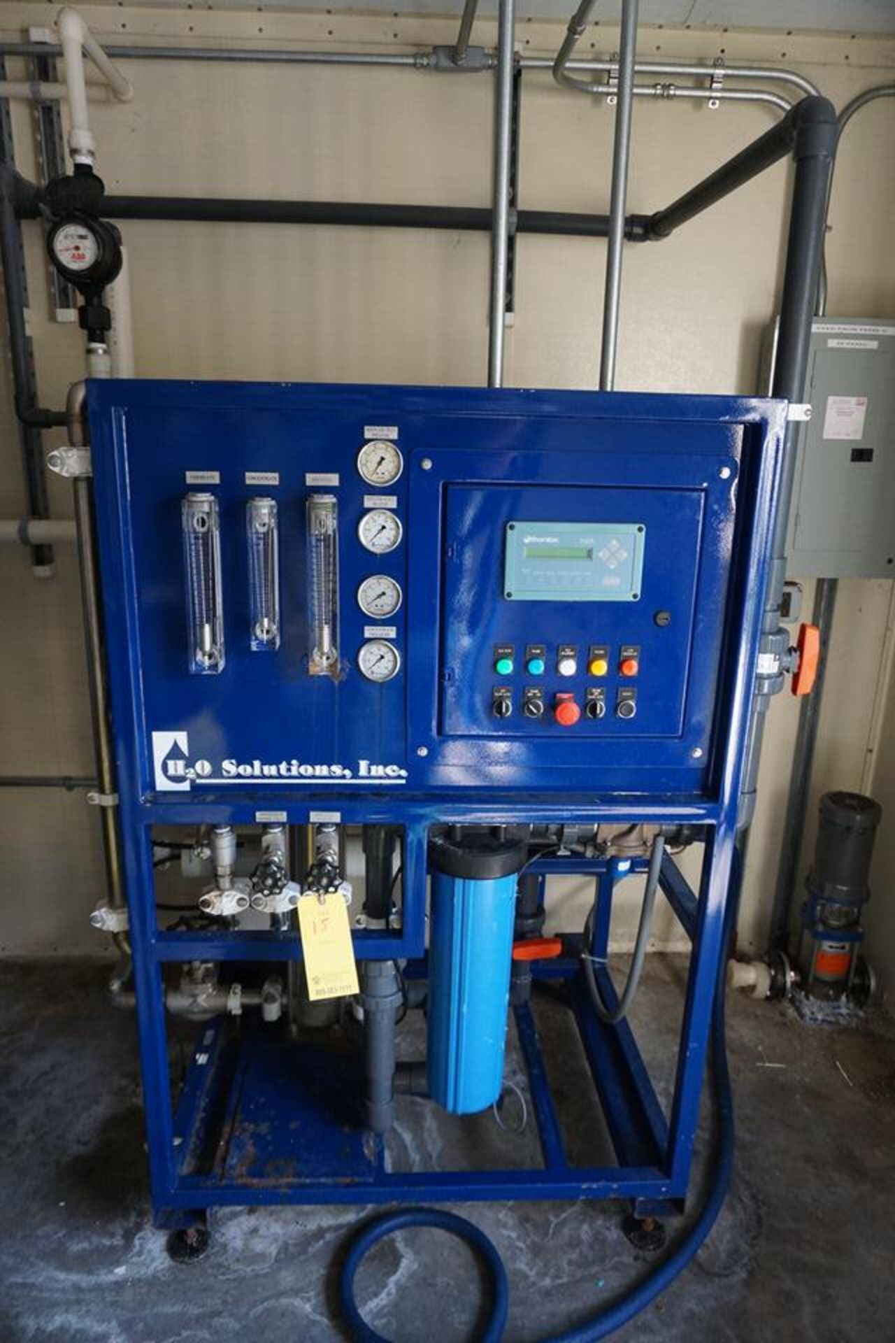 H20 SOLUTIONS INC DI WATER PLANT W/ THORNTON 200CR CONTROL - Image 12 of 12