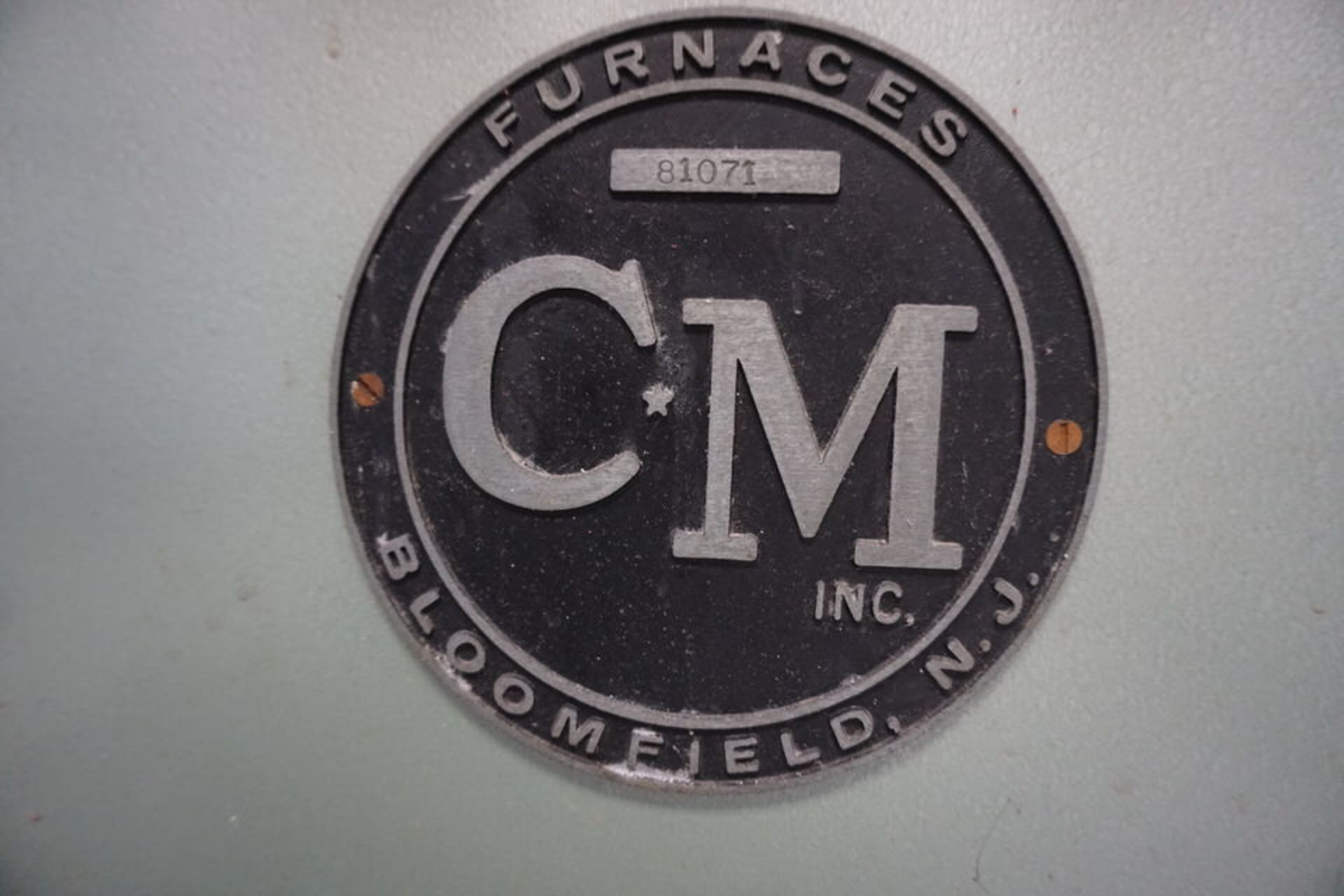 CM INC BELT FED HYDROGEN ANNEALING FURNACE - Image 8 of 13