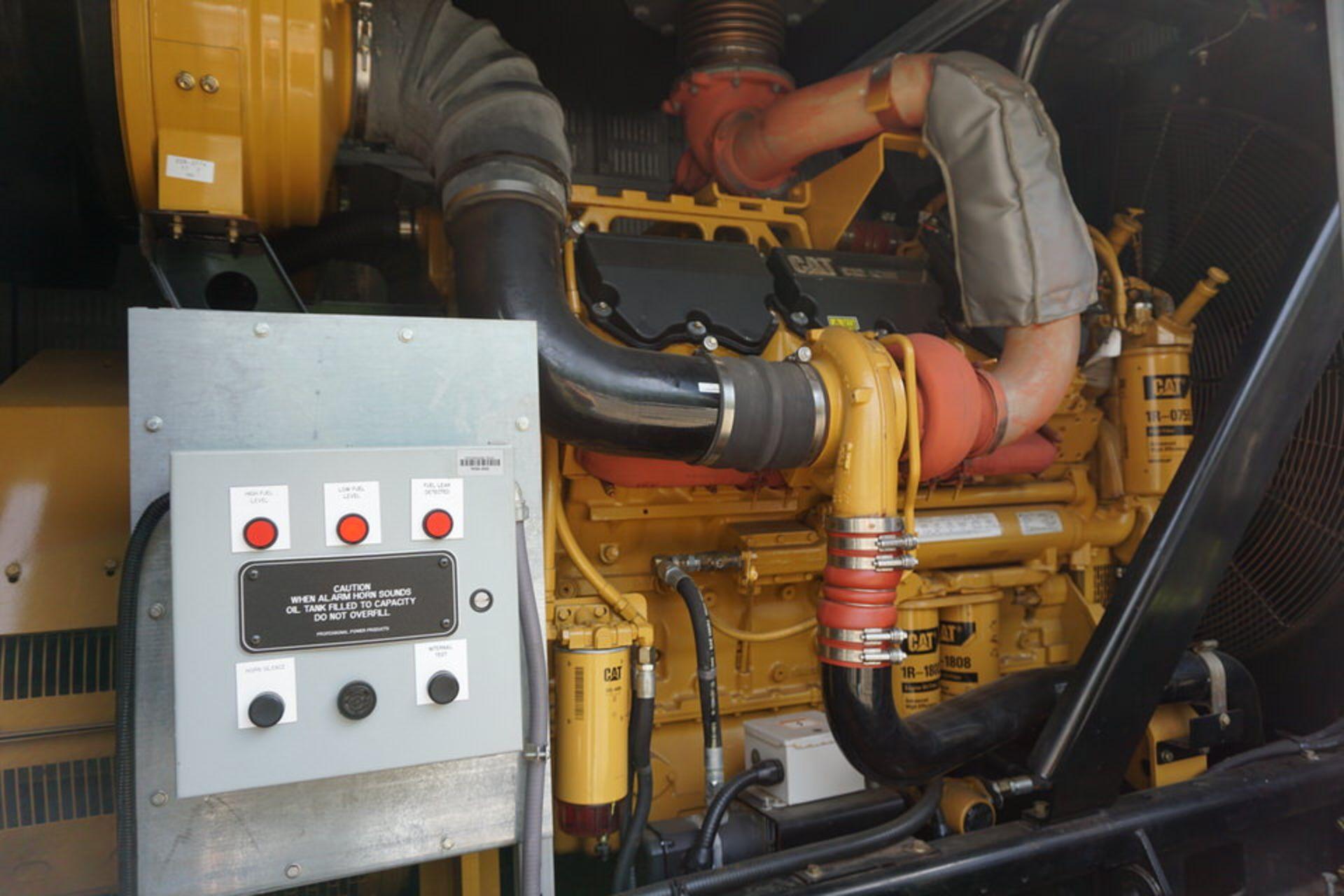 2007 CATERPILLAR BACK UP GENERATOR, ENGINE MODEL: C32 W/ EMCP3.3 CONTROL, 173.9 HOURS, 1250 KVA - Image 21 of 25