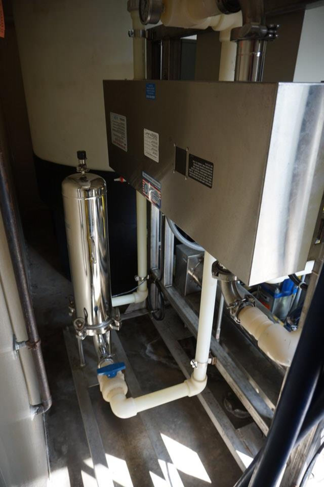 H20 SOLUTIONS INC DI WATER PLANT W/ THORNTON 200CR CONTROL - Image 4 of 12