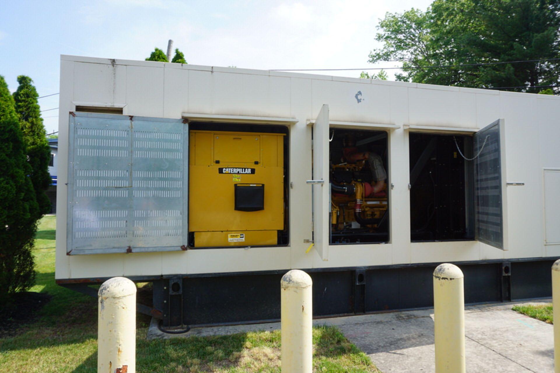 2007 CATERPILLAR BACK UP GENERATOR, ENGINE MODEL: C32 W/ EMCP3.3 CONTROL, 173.9 HOURS, 1250 KVA - Image 14 of 25