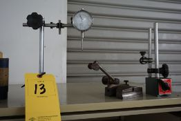 SURFACE GAGE, ON/OFF MAGNETIC STANDS, SCREW JACKS