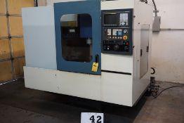 LEADWELL V-25 CNC MACHINE CENTER, FANUC SERIES 21-M CONTROL, 24 TOOL ATC, 8,000 RPM SPINDLE,