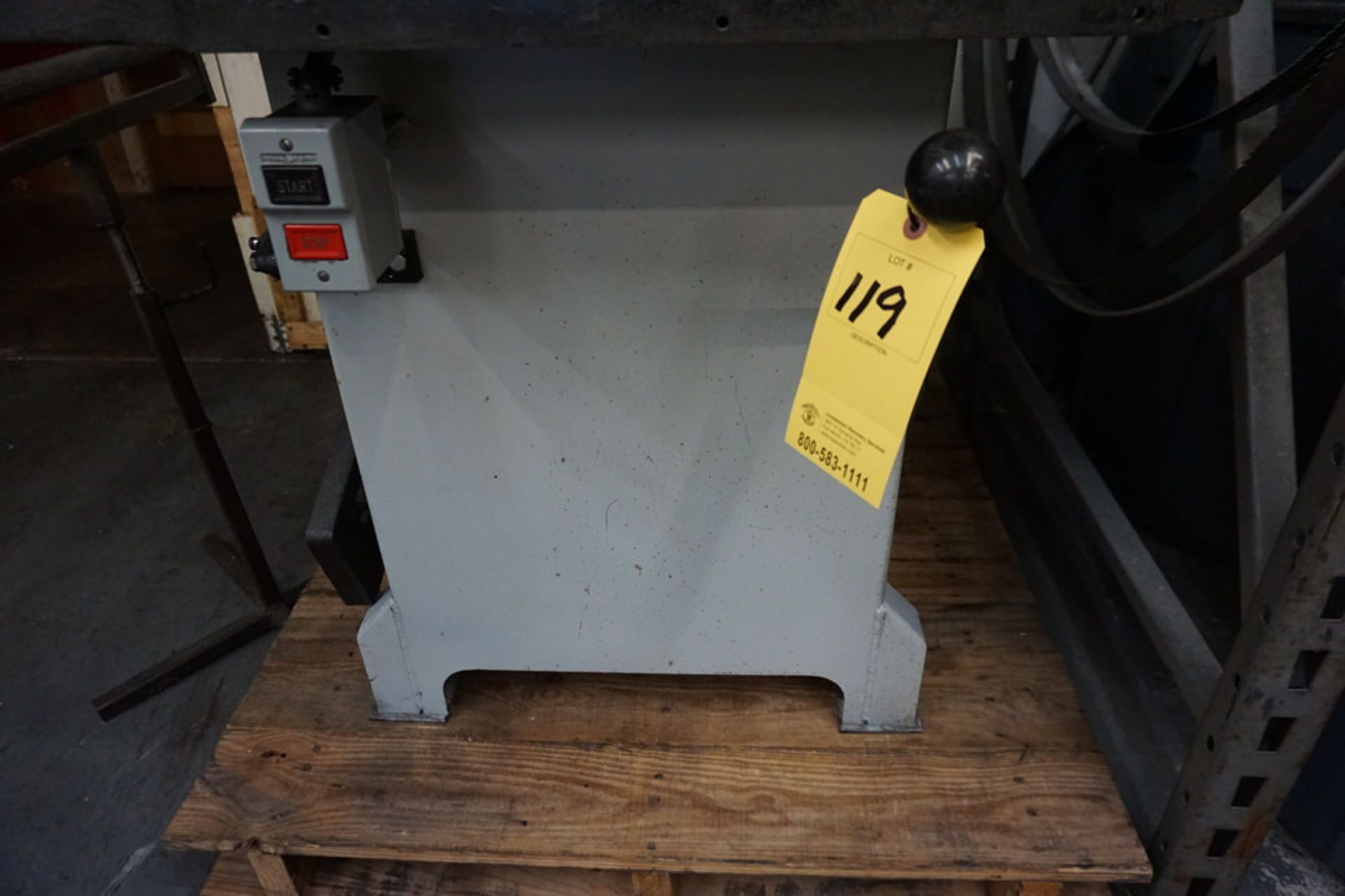 """ROLL IN BAND SAW, 3/4"""" X 10' BLADE SIZE - Image 3 of 5"""