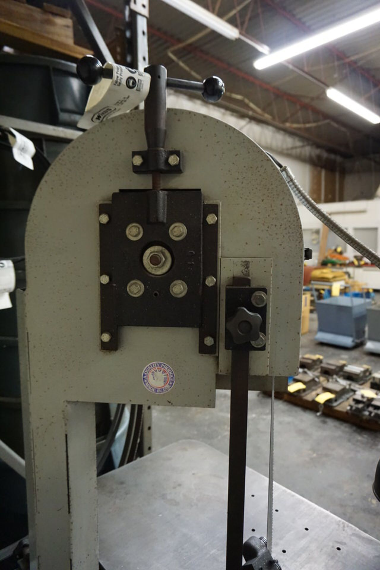 """ROLL IN BAND SAW, 3/4"""" X 10' BLADE SIZE - Image 4 of 5"""