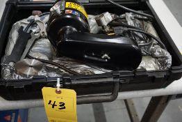 DUMORE TOOL POST GRINDER, MDL: 8473-210 W/ CASE