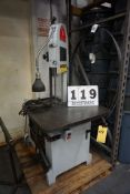 """ROLL IN BAND SAW, 3/4"""" X 10' BLADE SIZE"""