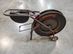 Brainard (2) Banding cart W/ Banding Tools & Extra Strapping