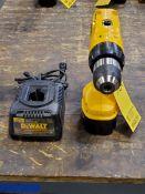 "Dewalt DW991 1/2"" Cordless Drill 14.4V, w/ Charger"