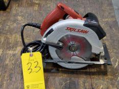 """Skilsaw 7-1/4"""" Circular Saw W/ Laser 120V, 15A, 60HZ, 5300/min"""