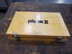 """Phase II Pin Gage Set .251""""-.500"""""""