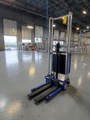 """2016 CE EJ4150 Stacker 400/kg Cap., Max Ht: 1500mm, 25-1/2"""" Forks"""
