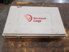 """Vermont Pin Gage Set .2510""""-.5000"""""""