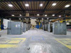 8-Room Welding Booth W/ Hood Extractions