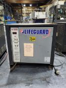 Lifeguard Industrial Battery Charger 8hr Charge Time, 208/240/480V, 3PH, 60HZ