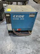 Exide Industrial Battery Charger 8hr Charge Time, 208/240/480V, 3PH, 60HZ
