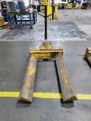 """Crane System Pallet Jack 500lb Cap., 48"""" Forks"""