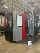 2011 OKK Horizontal Machining Center, Model: HM500SS/40 W/ Fanuc AI CNC Control